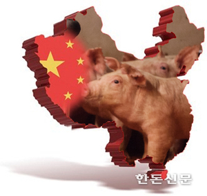 """[해외뉴스]""""중국 2년후 돼지고기값 90까지 폭락"""" 경고음"""